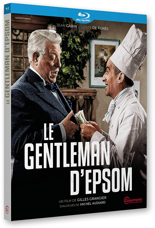 Blu-ray - Le Gentleman d'Epsom (1962) de Gilles Grangier (Gaumont)