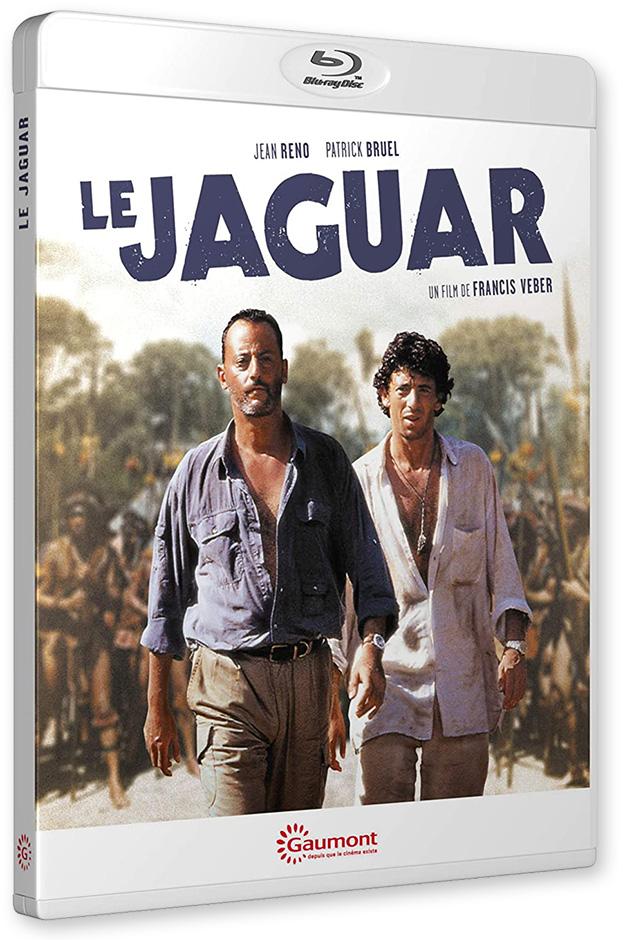 Blu-ray - Le Jaguar de Francis Veber (Gaumont)