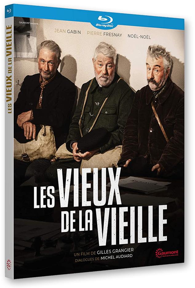 Blu-ray - Les Vieux de la vieille (1960) de Gilles Grangier (Gaumont)
