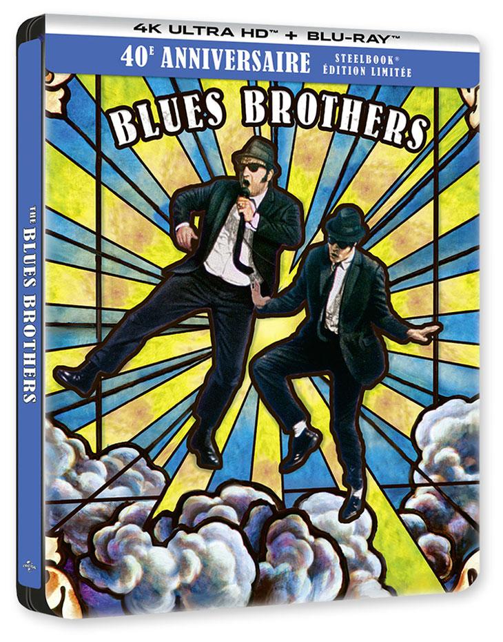 The Blues Brothers (John Landis, 1980) - 4K Ultra HD + Blu-Ray-Édition Limitée SteelBook 40ème Anniversaire