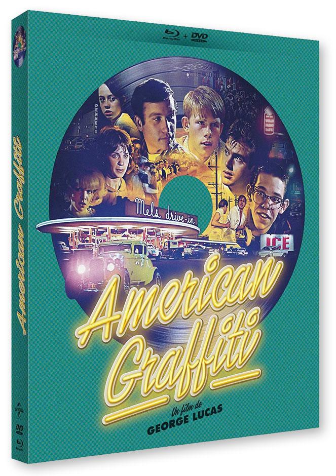American Graffiti de Georges Lucas (1973) - Blu-ray
