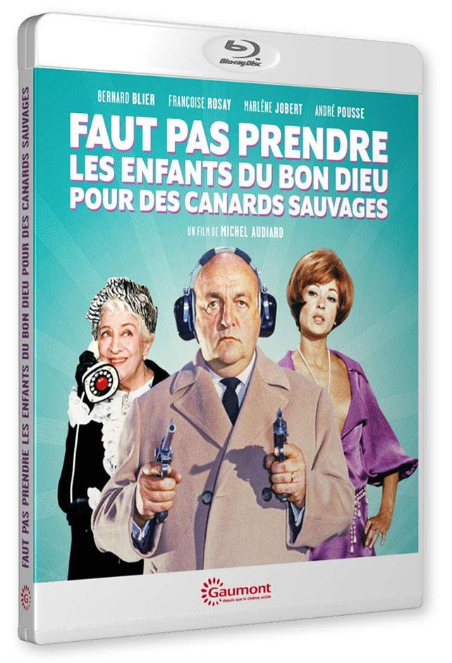Faut pas prendre les enfants du bon Dieu pour des canards sauvages (Michel Audiard, 1968) - Blu-ray
