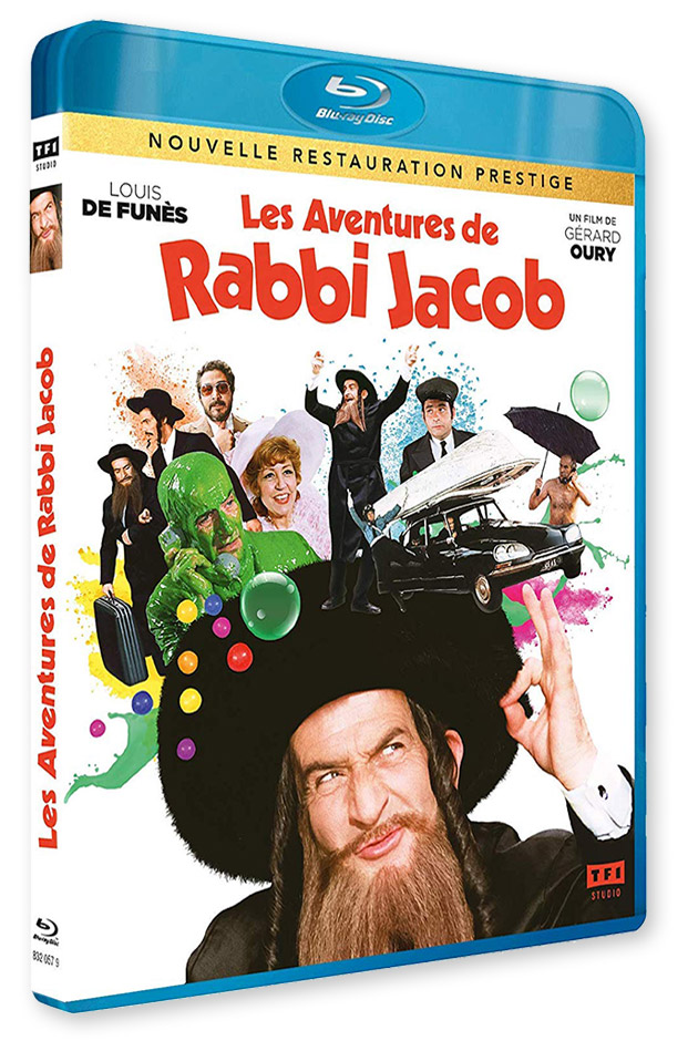 Les Aventures de Rabbi Jacob (Gérard Oury, 1973) - Blu-ray