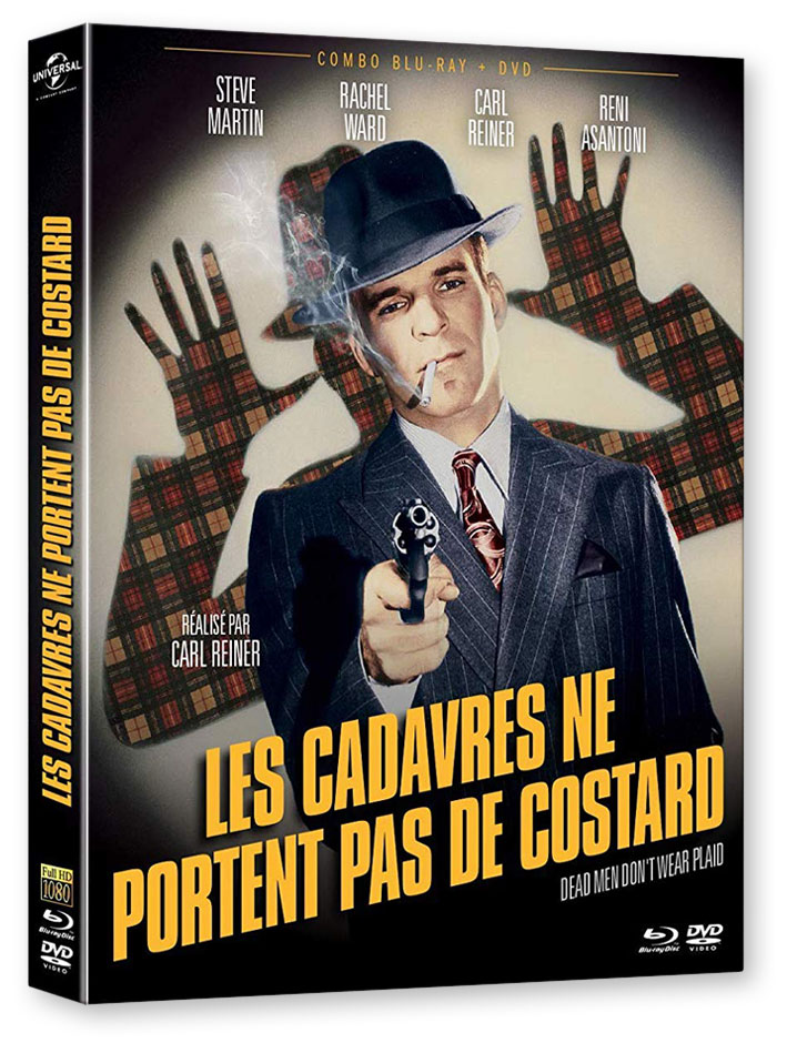 Les Cadavres ne portent pas de costard (Dead Men Don't Wear Plaid, 1982) de John G. Avildsen - Blu-ray