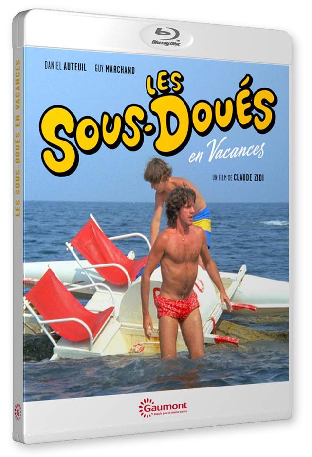 Les Sous-doués en vacances (Claude Zidi, 1982) - Blu-ray