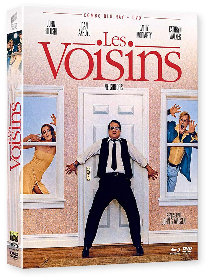 Les Voisins (Neighbors) de John G. Avildsen (1981) - Blu-ray