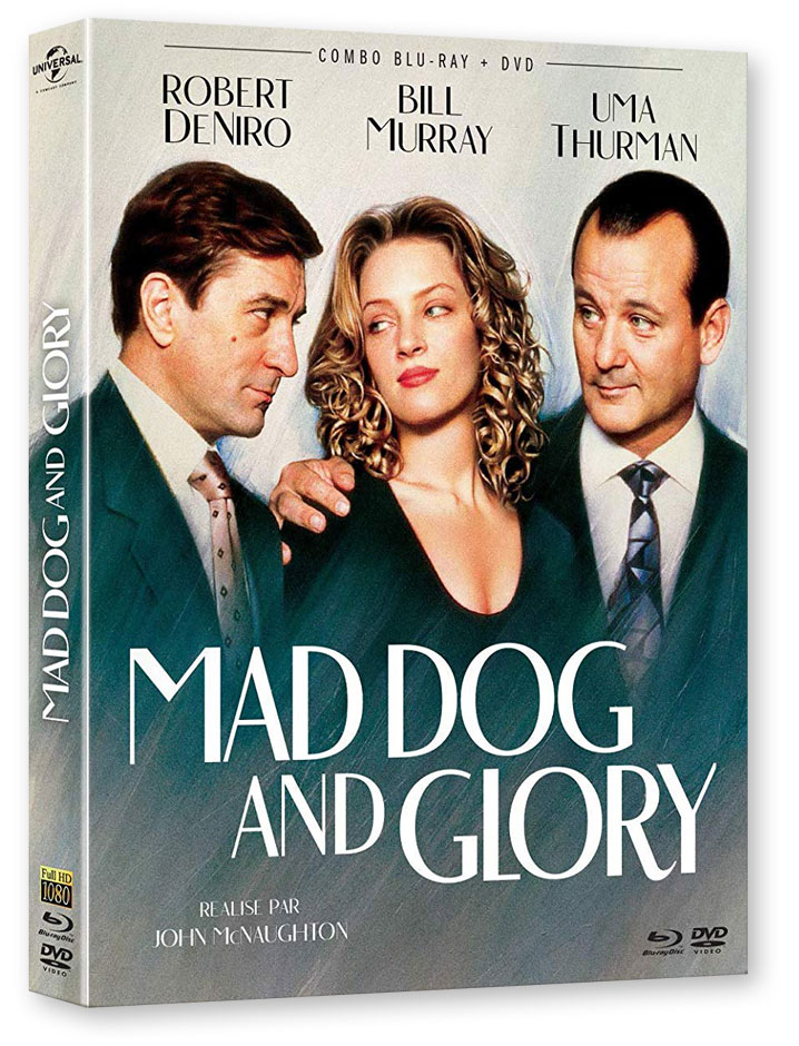 Mad Dog and Glory (1993) de John McNaughton - Blu-ray