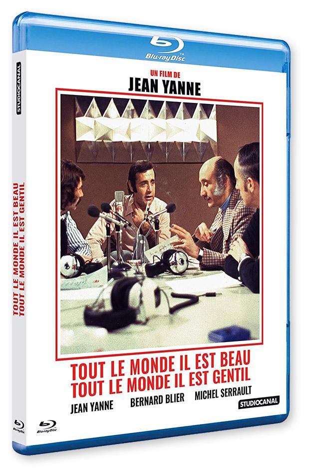 Tout le monde il est beau, tout le monde il est gentil (Jean Yanne, 1972) - Blu-ray