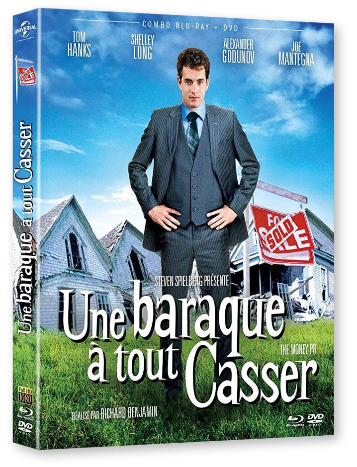 Une baraque à tout casser (The Money Pit, 1986) de Richard Benjamin - Blu-ray