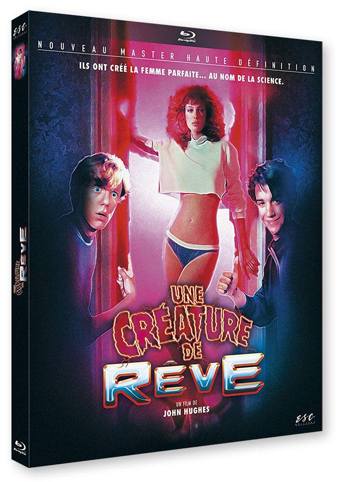 Une créature de rêve (Weird Science) de John Hugues (1985) - Blu-ray