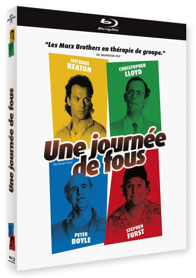 Une journée de fous (The Dream Team) de Howard Zieff (1989) - Blu-ray