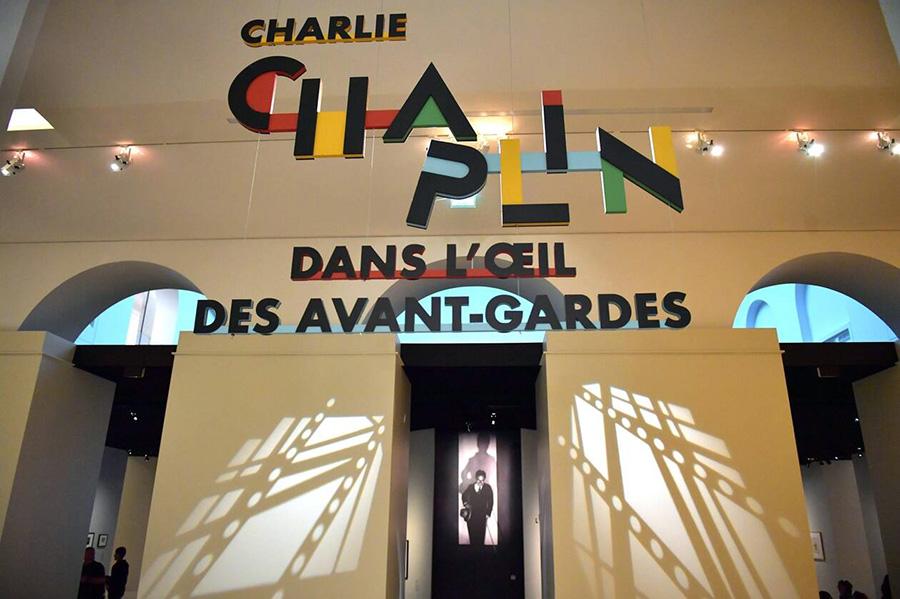Expo Charlie Chaplin dans l'œil des avant-gardes à Nantes du 18 octobre 2019 au 3 février 2020 - © PO-Nathalie Bourreau