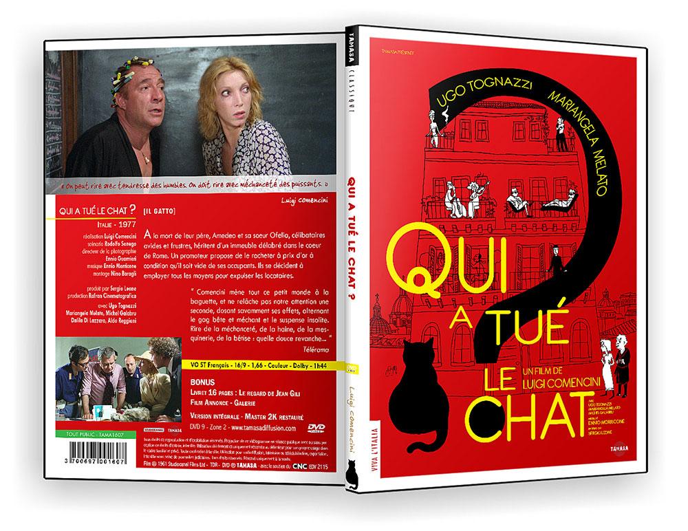Qui a tué le chat ? (Il Gatto) de Luigi Comencini (1977) - DVD