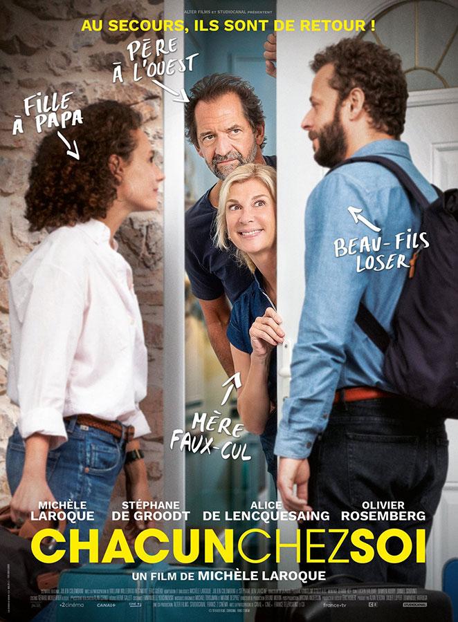 Chacun chez soi (Michèle Laroque, 2020)