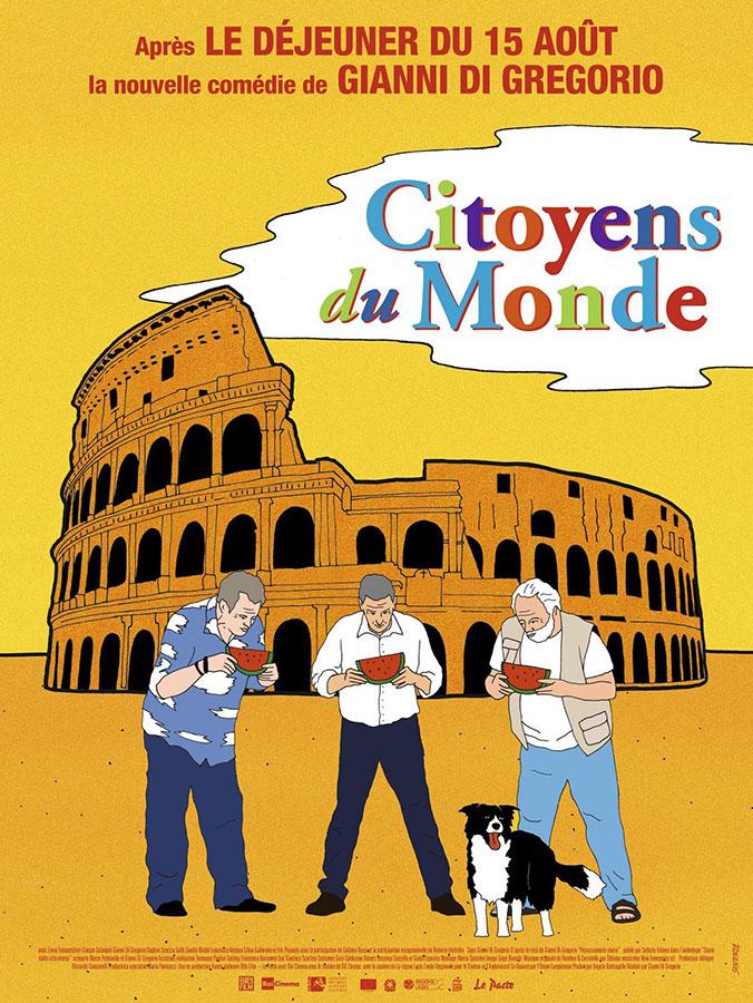 Citoyens du monde (Cittadini del mondo) de Gianni Di Gregorio (2020)