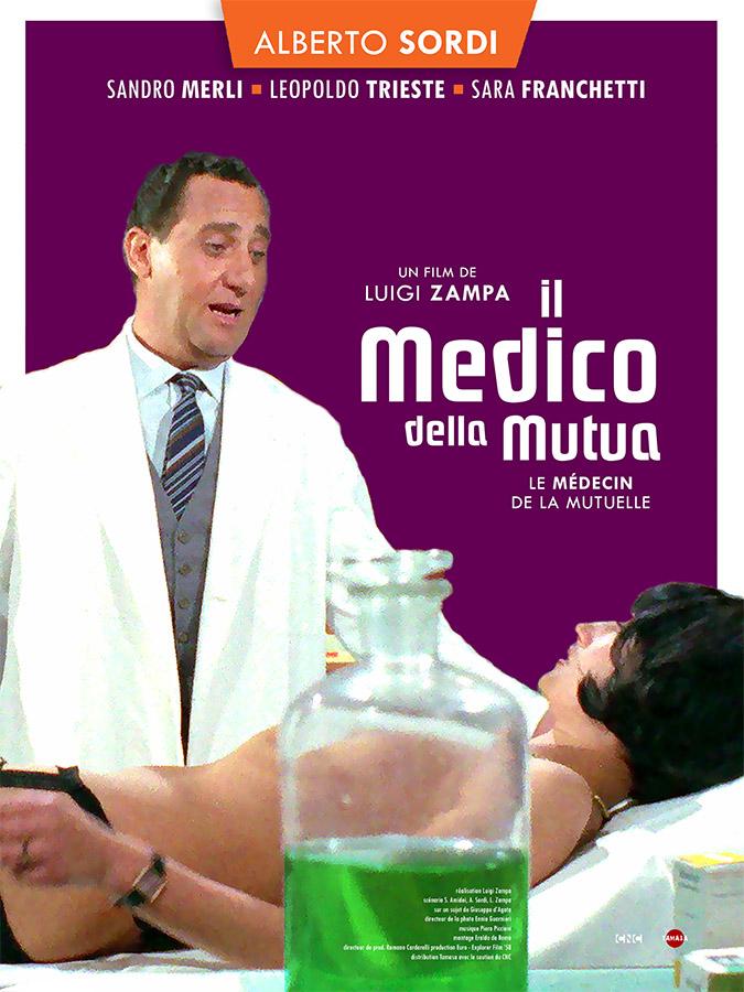 Il Medico Della Mutua (le médecin de la mutuelle) de Luigi Zampa (1968)