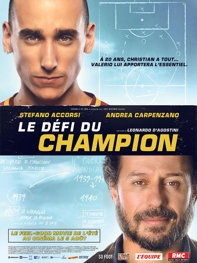Le Défi du champion (Il Campione) de Leonardo D'Agostini (2020)