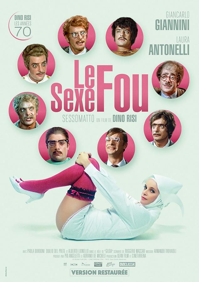 Le Sexe fou (Sessomatto) de Dino Risi (1973)
