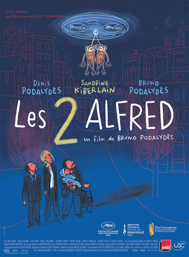 Les 2 Alfred (Bruno Podalydès, 2021)