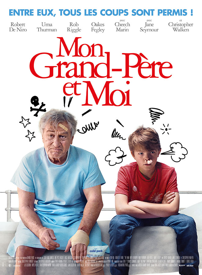 Mon grand-père et moi (The War with Grandpa) de Tim Hill (2020)