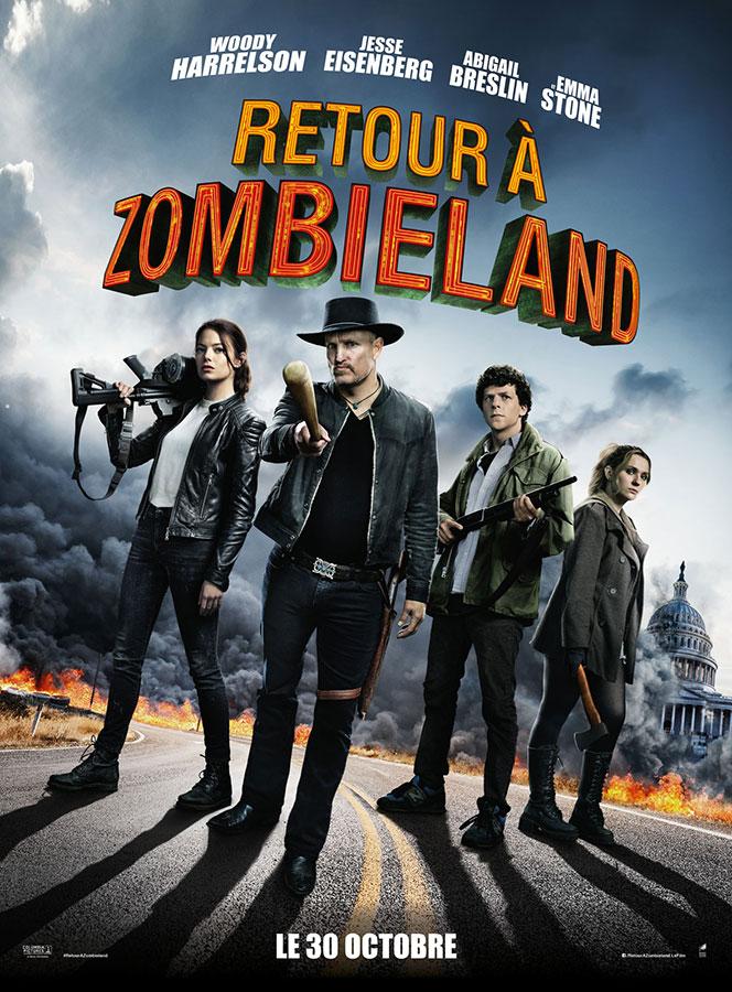 Retour à Zombieland (Zombieland: Double Tap) de Ruben Fleischer (2019)