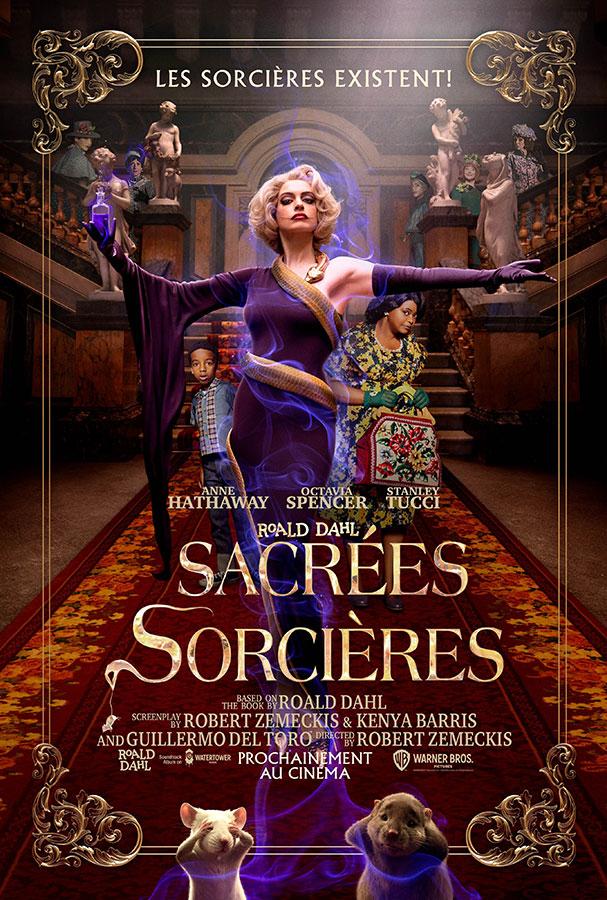 Sacrées sorcières (Roald Dahl's The Witches) de Robert Zemeckis (2020)