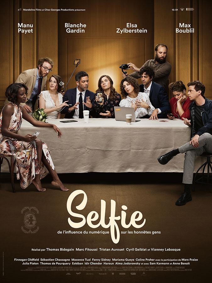 Selfie (Tristan Aurouet, Thomas Bidegain, Marc Fitoussi, Cyril Gelblat et Vianney Lebasque, 2020)