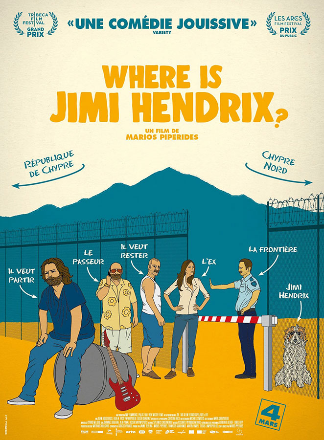Where is Jimi Hendrix ? (Smuggling Hendrix) de Mario Piperides (2020)