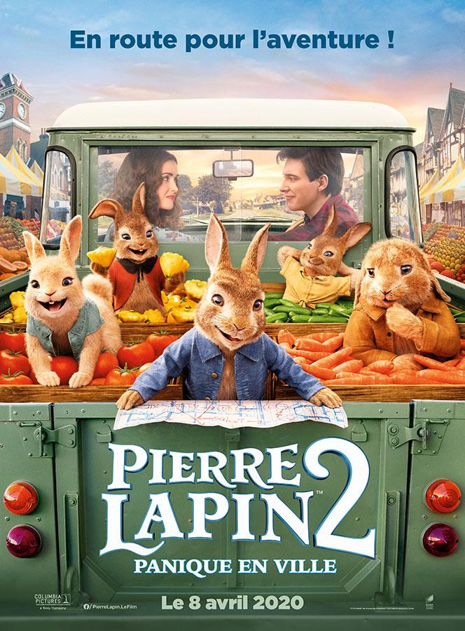 Pierre lapin 2 : panique en ville (Will Gluck, 2020)
