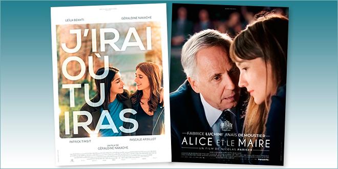 sorties Comédie du 2 octobre 2019 : J'irai où tu iras, Alice et le maire