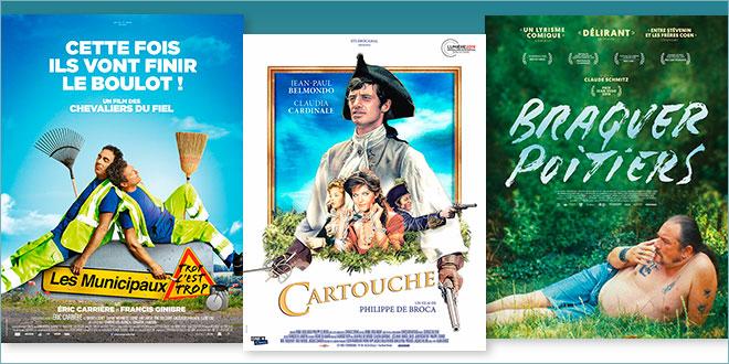 sorties Comédie du 23 octobre 2019 : Les Municipaux, trop c'est trop !, Braquer Poitiers, Cartouche (1962)