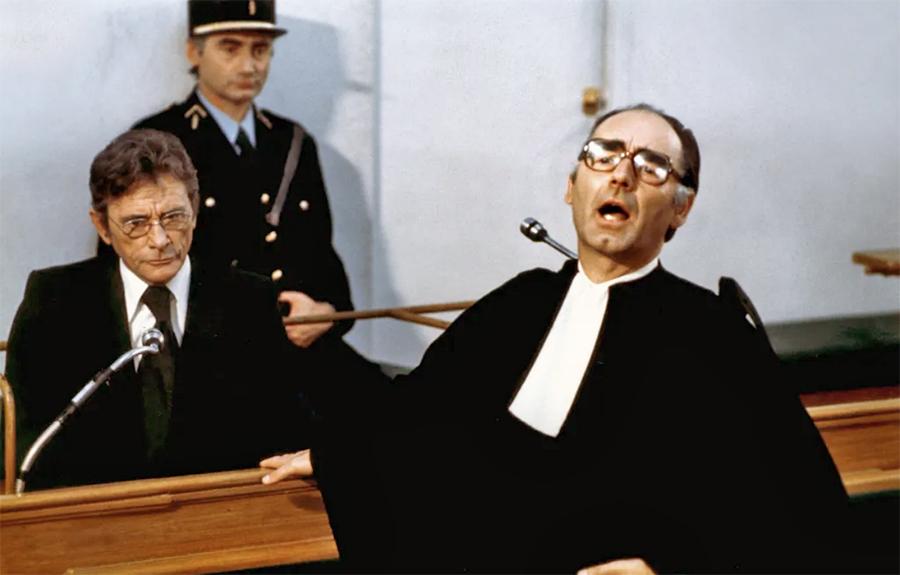 Bernard Lavalette et Robert Lamoureux dans L'Apprenti salaud (Michel Deville, 1976) - DR