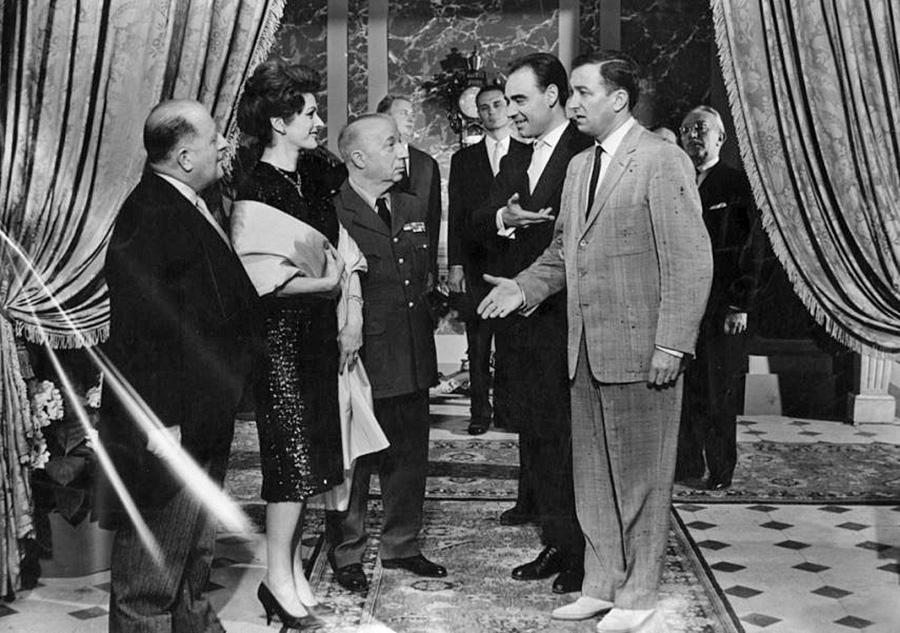 Bernard Lavalette dans La Belle Américaine (Robert Dhéry, 1961) - DR