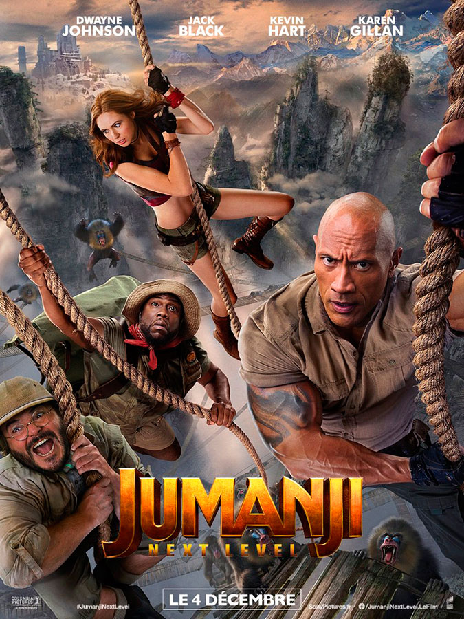 Jumanji : next level (Jake Kasdan, 2019)