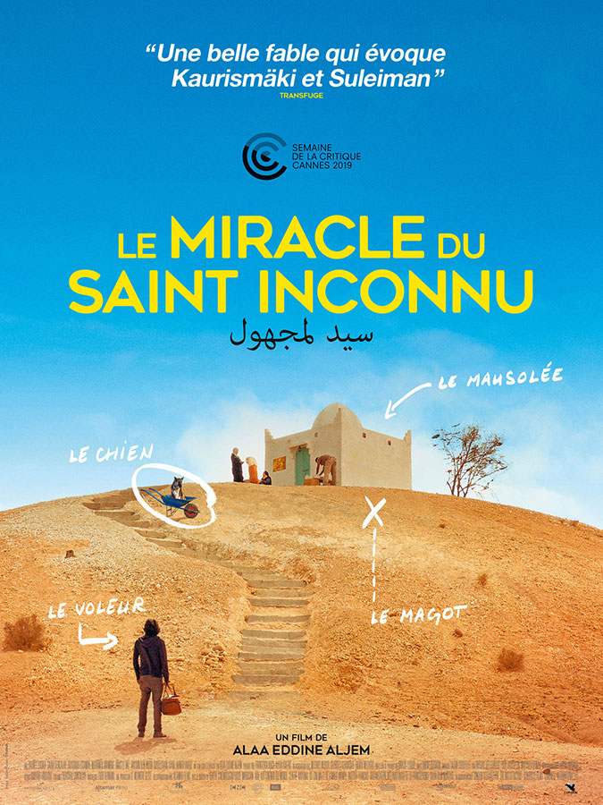 Le Miracle du Saint inconnu (Alaa Eddine Aljem, 2020)