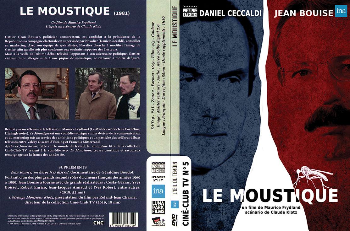 Le Moustique (Maurice Frydland, 1980) - DVD Digipack
