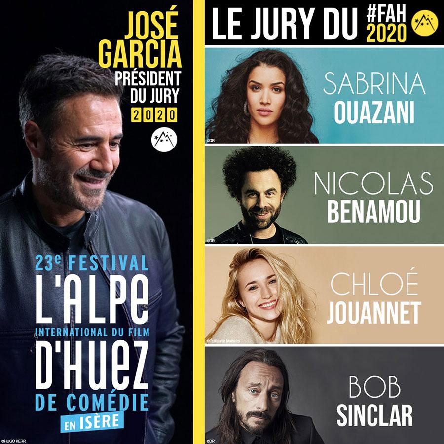 Jury du 23ème Festival International du Film de Comédie de l'Alpe d'Huez