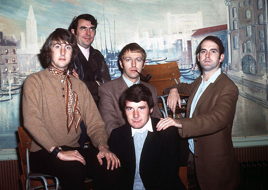 Eric Idle, Terry Jones, Graham Chapman, John Cleese et Michael Palin - © PA/PA Wire