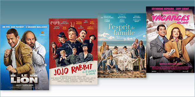 sorties Comédie du 29 janvier 2020 : Le Lion, Jojo Rabbit, L'Esprit de famille, Vacances (Holiday, 1938)