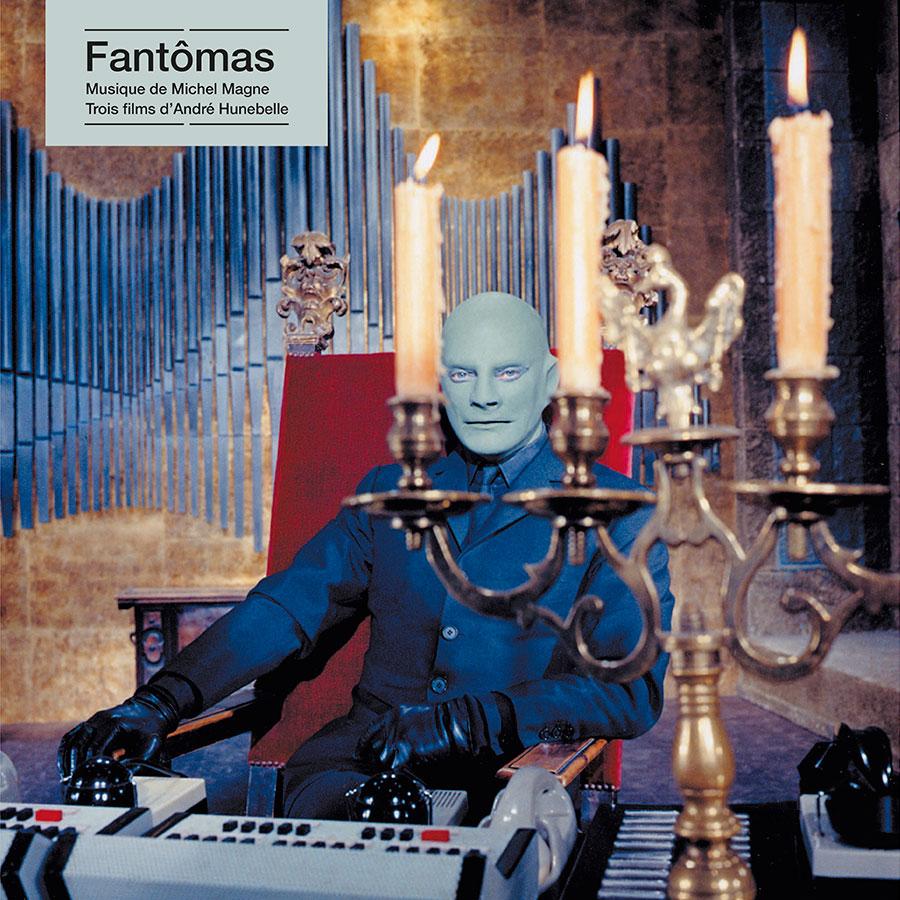 Fantômas / Michel Magne (Écoutez le cinéma !) - recto 33 tours