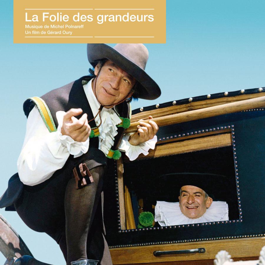 La Folie des grandeurs / Michel Polnareff (Écoutez le cinéma !) - recto 33 tours