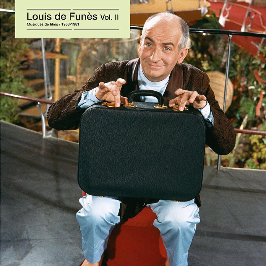 Louis de Funès vol. II, Musiques de films 1963-1981 (Écoutez le cinéma !) - recto 33 tours