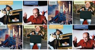 Louis de Funès en 4 disques vinyles évènements