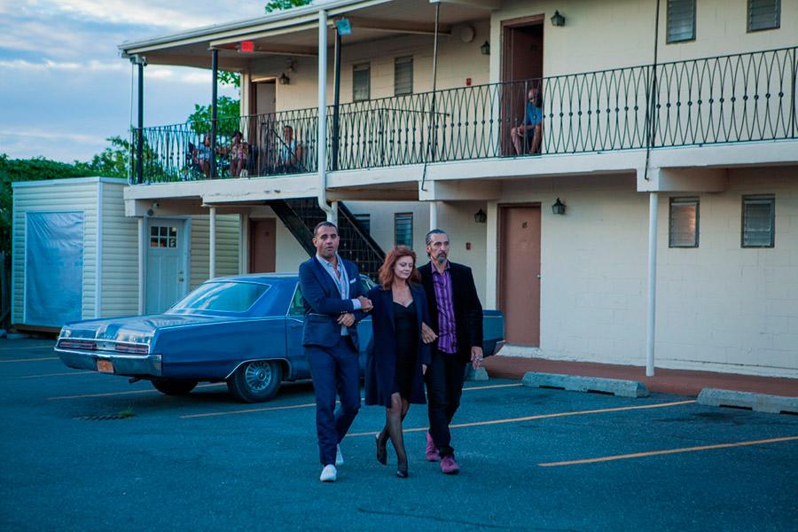 Bobby Cannavale, Susan Sarandon et John Turturro dans The Jesus Rolls (John Turturro, 2020) - © Sidney Kimmel Entertainment