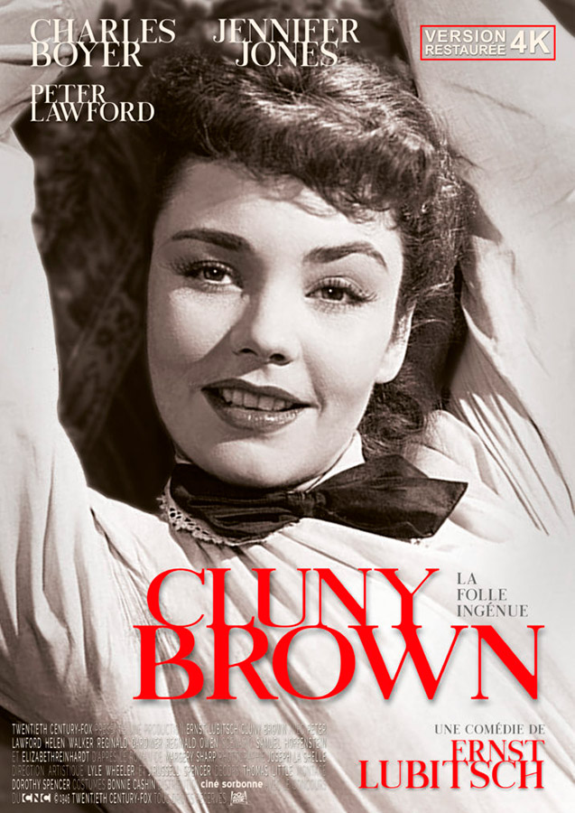 La Folle ingénue (Cluny Brown) de Ernst Lubitsch (1946)