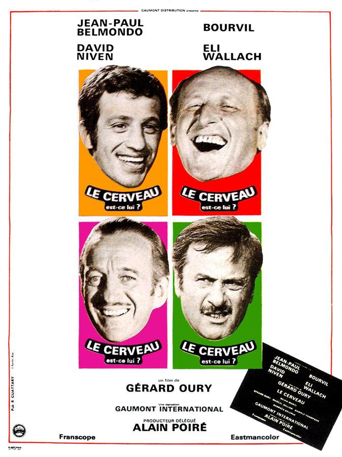 Le Cerveau (Gérard Oury, 1969)