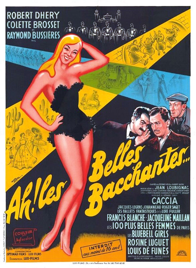 Ah ! Les belles bacchantes (Jean Loubignac, 1954)
