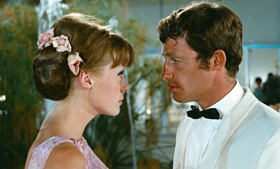 Françoise Dorléac et Jean-Paul Belmondo dans L'Homme de Rio (Philippe de Broca, 1964) - DR