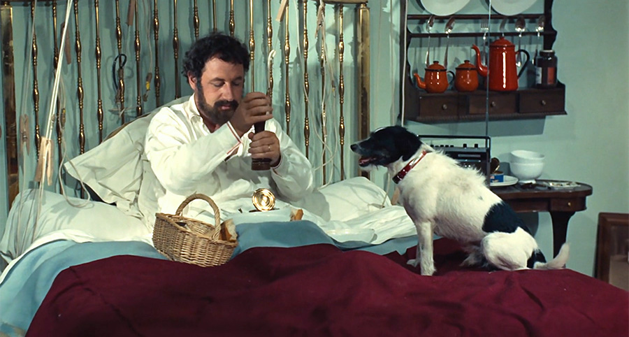 Philippe Noiret dans Alexandre le bienheureux (Yves Robert, 1968) - © Gaumont