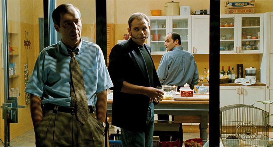 Sam Karmann, Jean-Pierre Darroussin et Jean‑Pierre Bacri dans Cuisine et dépendances (Philippe Muyl, 1993) - © Gaumont